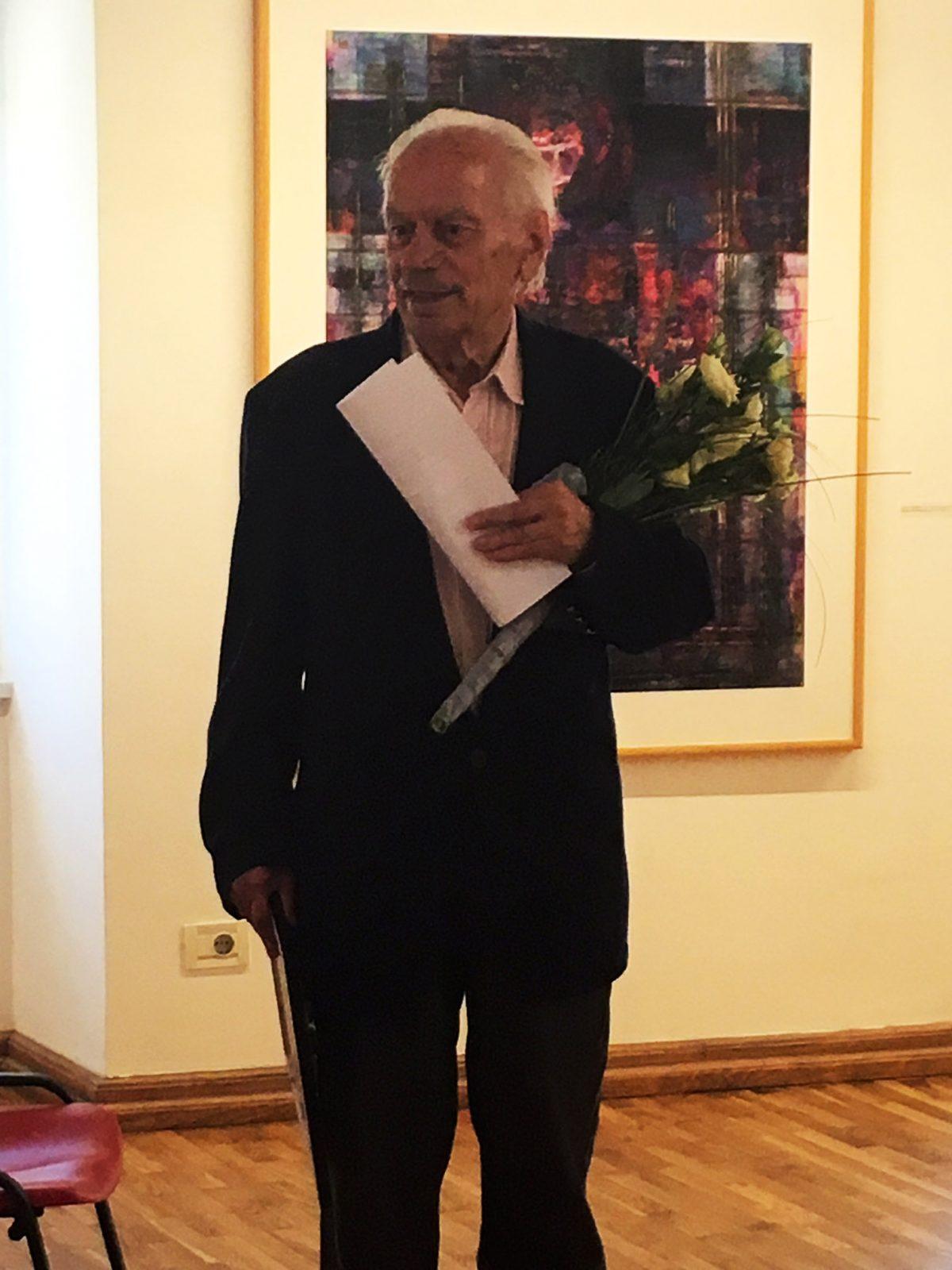 Proglašenje Josipa Diminića počasnim članom udruge MKS