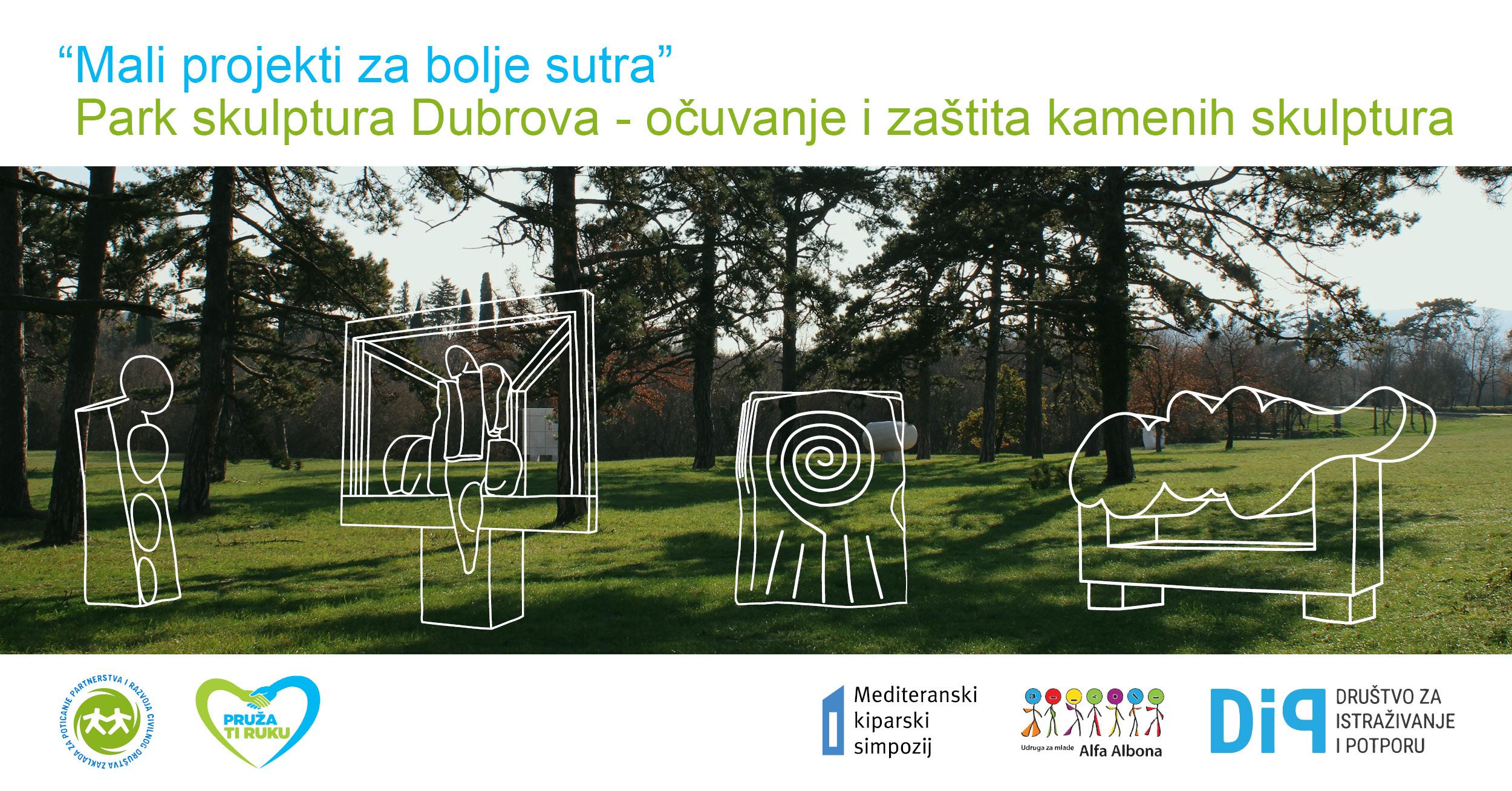Park skulptura Dubrova - očuvanje i zaštita kamenih skulptura