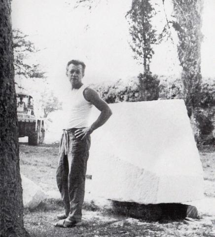 Ivan Kozarić, Segmento del fiume Senna, 1970