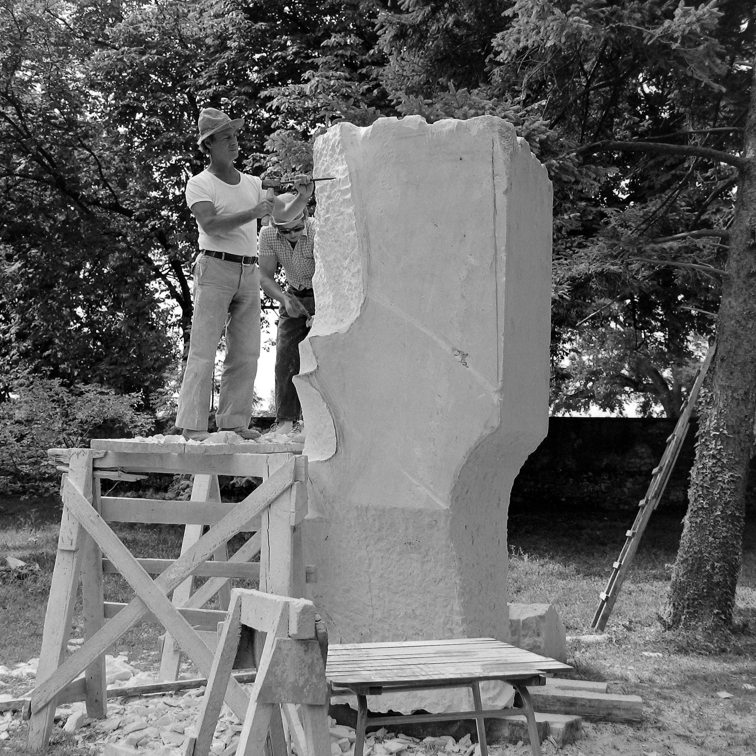Petar Hadži Boškov, Layers, 1976