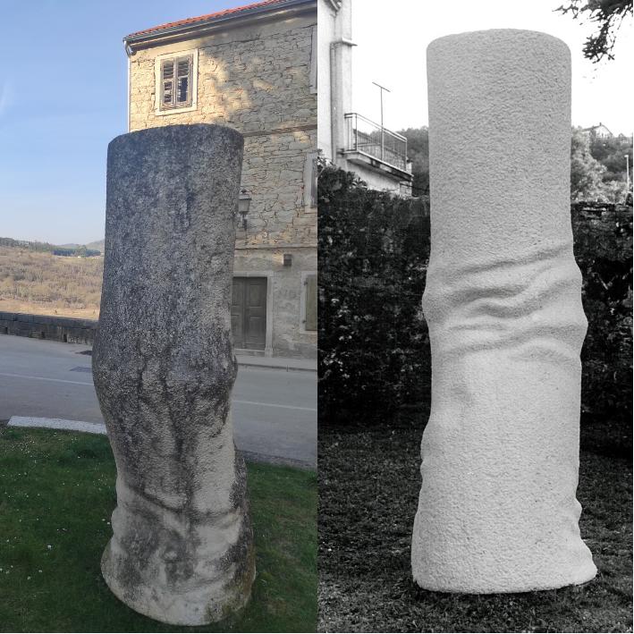 Ostvarili smo podršku za projekt sanacije skulptura u Pazinu