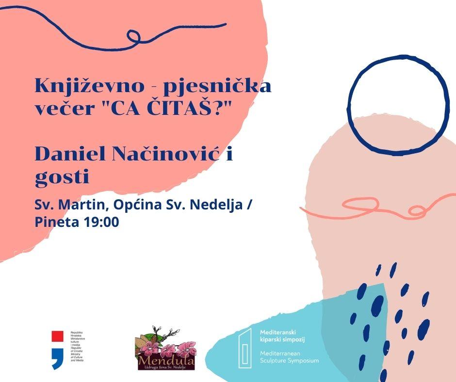 Književno – pjesnička večer u Pineti